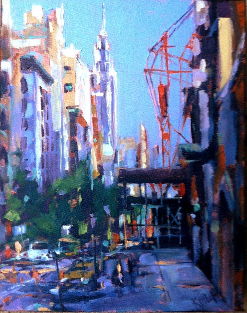 "213: ""Empire State &  Red Crane"", Anne Kullaf"