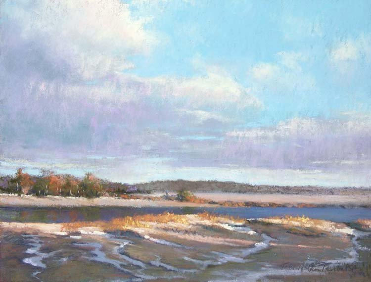 """Crab Meadow Light"", Jane McGraw-Teubner,"