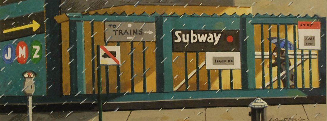 """""""The Subway"""", Lawrence Butcher,"""