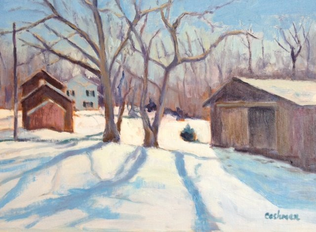 """Tree Shadows"", Karen  Cashman,"