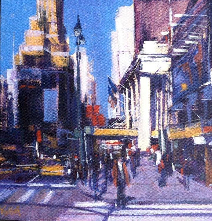 """""""Across from Penn"""", Anne  Kullaf,"""