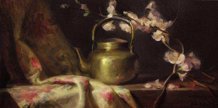 """""""Cherry Blossoms"""", Leah Lopez,"""