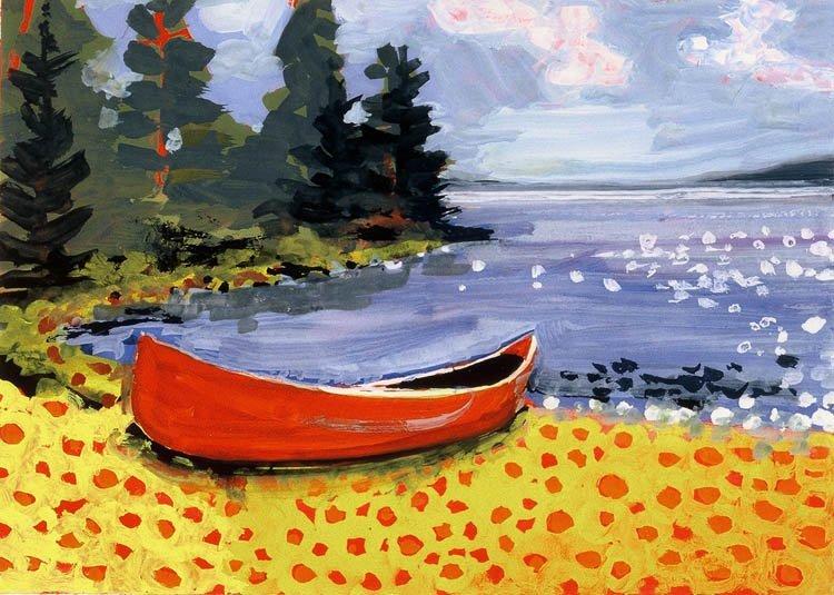 """Yellow Beach"", Holly Meeker Rom,"
