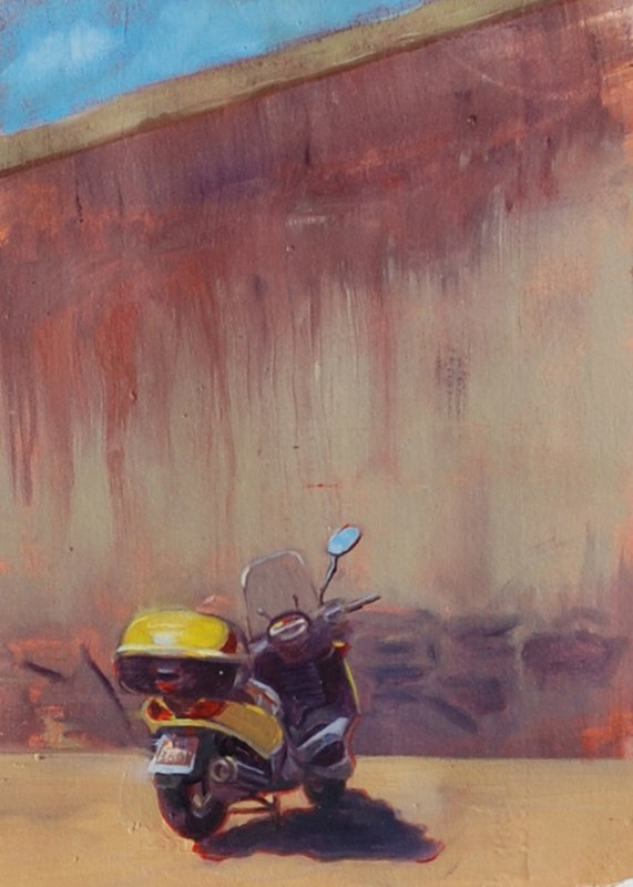 """""""Italian Scooter"""", Janet Cook,"""