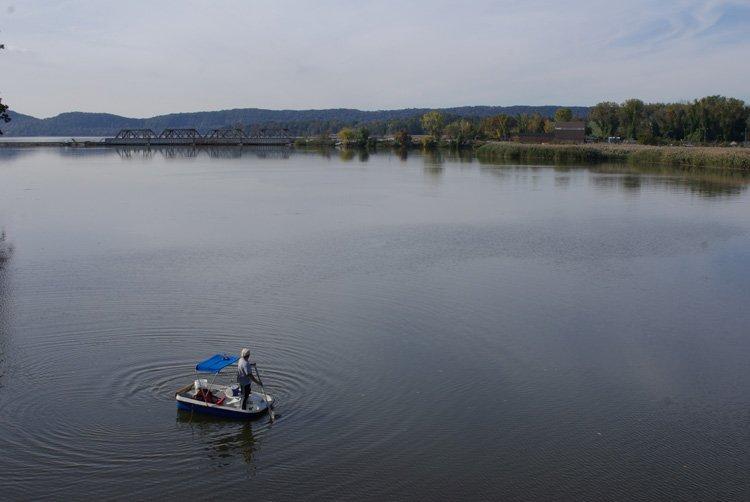 """Fisherman on the Hudson"", Nicholas Maffei,"