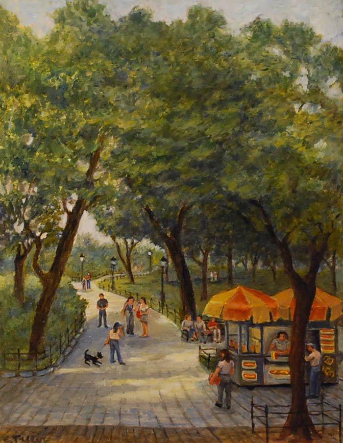 """Central Park"", Carole Teller,"