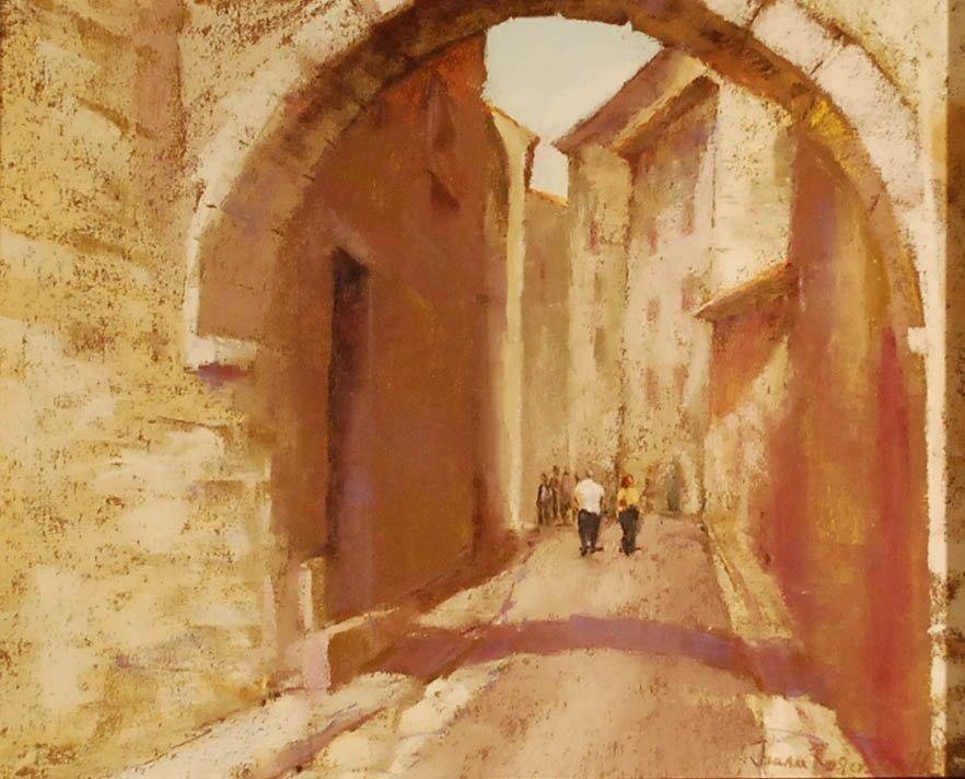 """""""Strolling St Paul"""", Jeanne Rosier-Smith,"""