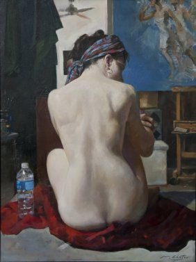 """Model's Break"", Marc Chatov,"