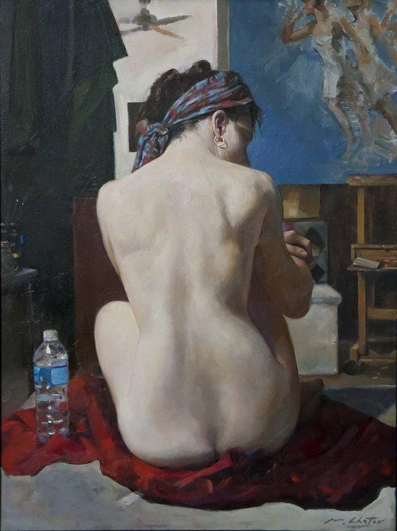 """""""Model's Break"""", Marc Chatov,"""