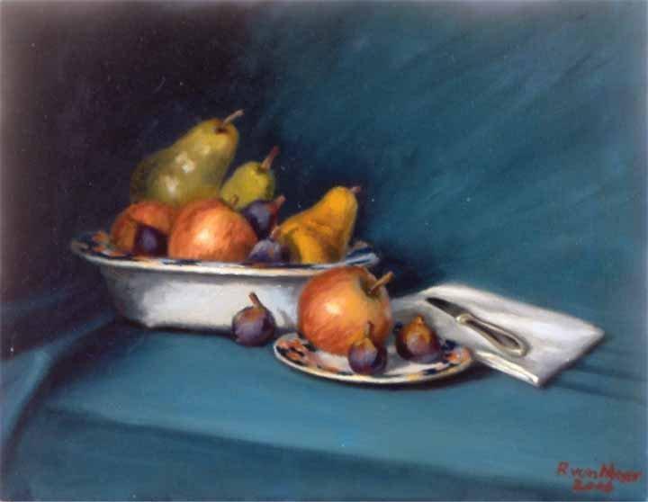 """""""Fruit w/Still Life"""", Robert Von Meyer,"""
