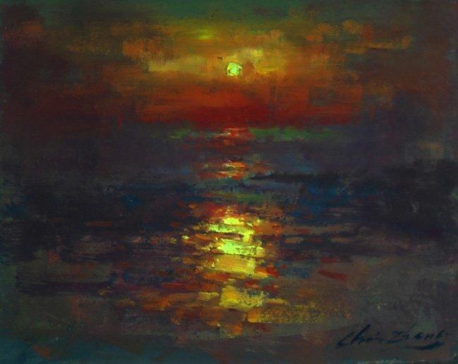 """Sea Sunset"", Christopher Zhang,"