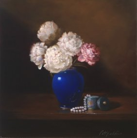 """Peonies And Pearls"", Patt Baldino,"