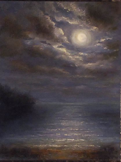 """""""Nocturne, VT"""", Georgette Sinclair,"""