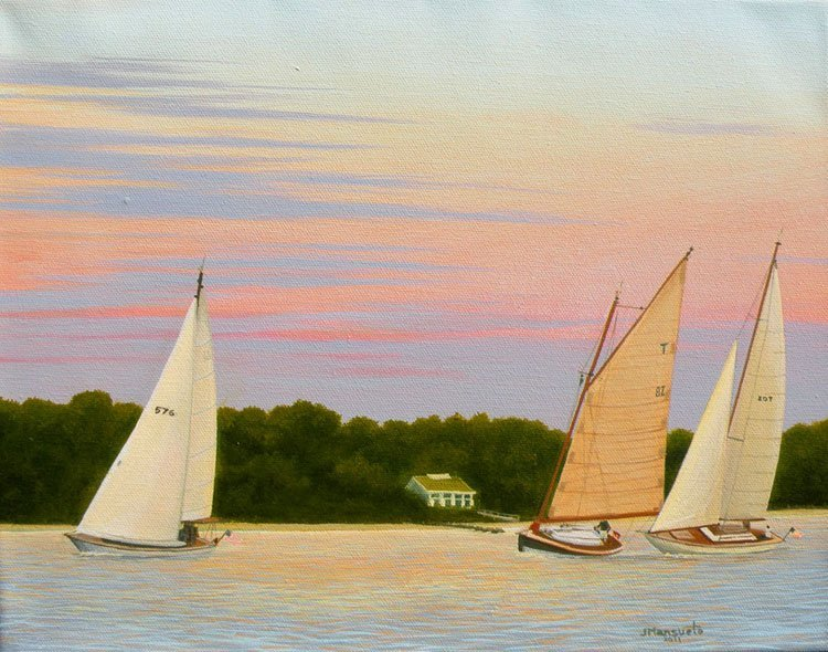 """""""Racing with the Wind"""", John Mansueto"""