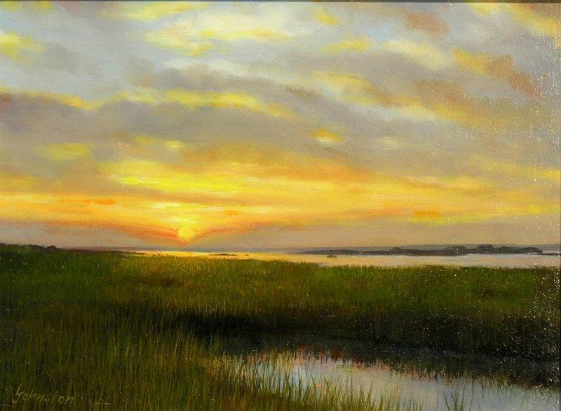"""""""September Sunset"""", Laurence Johnston,"""