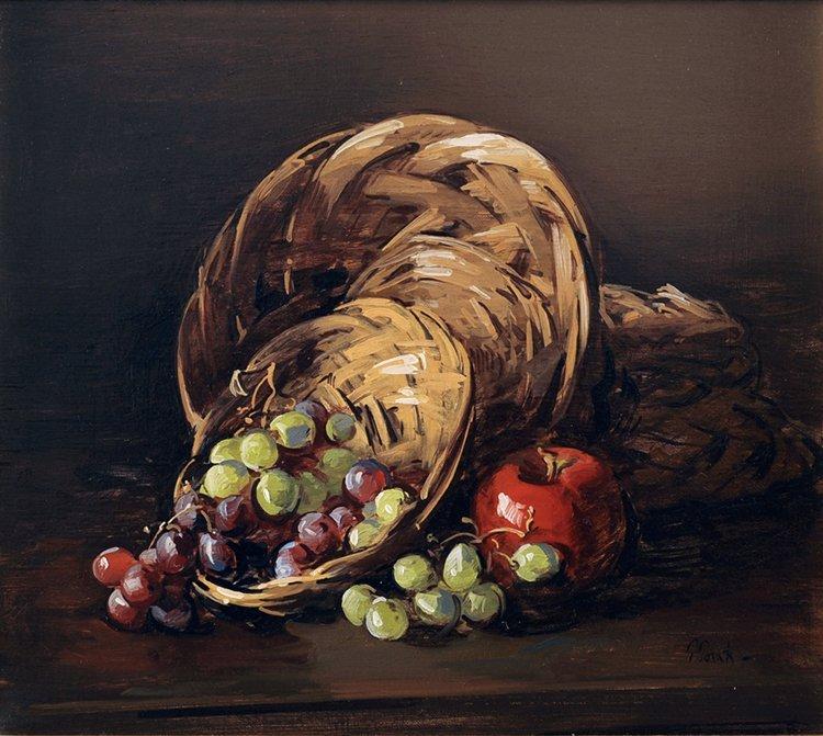"""Baskets and Fruits"", Thomas Torak,"