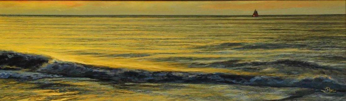 """Sunset Surf"", Del-Bourree Bach,"
