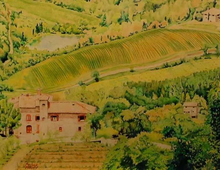 """""""Tuscan Vista"""", Andrea Placer,"""