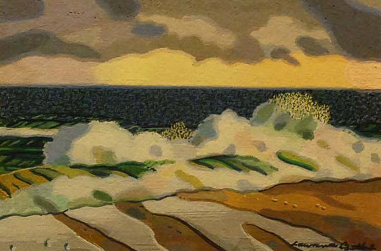 """""""Sunset"""", Lawrence Butcher Jr.,"""