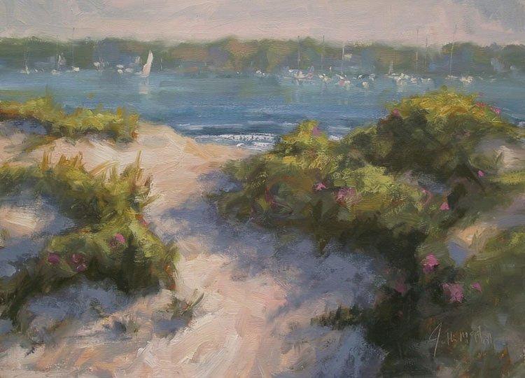 """Path to a Salt Pond"", Jonathan McPhillips,"