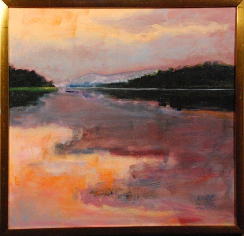 """Poxono Landing: Summer Sunset"", Annie Shaver-Crandell"