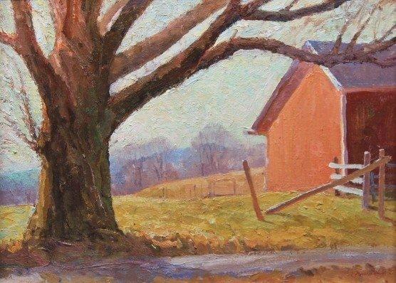 """""""Ed Platt Farm"""", Rick Daskam"""