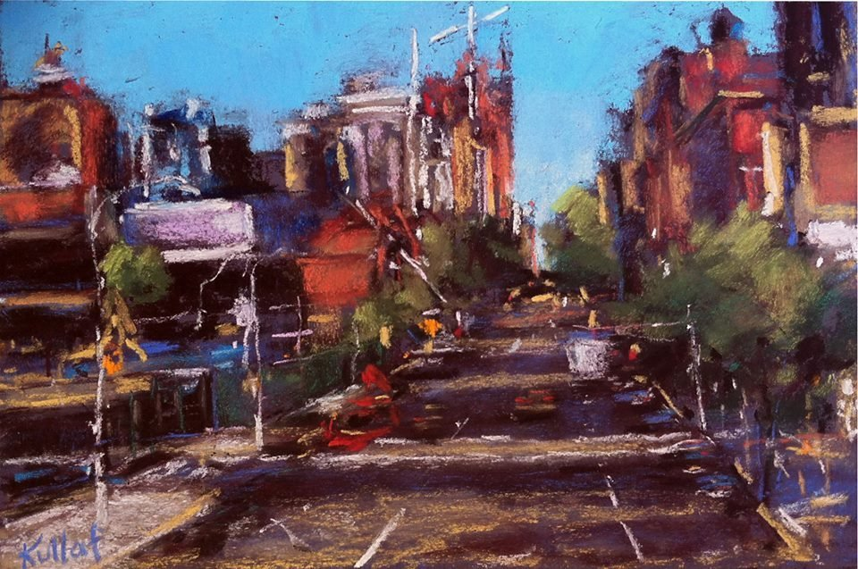"""""""10th Avenue From the Highline"""", Anne  Kullaf"""