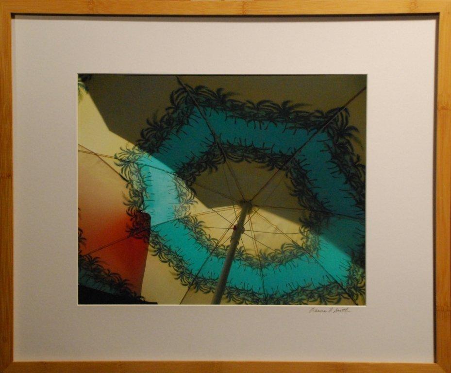"""Street Vendor's Umbrella #2"", Laura L. Smith"
