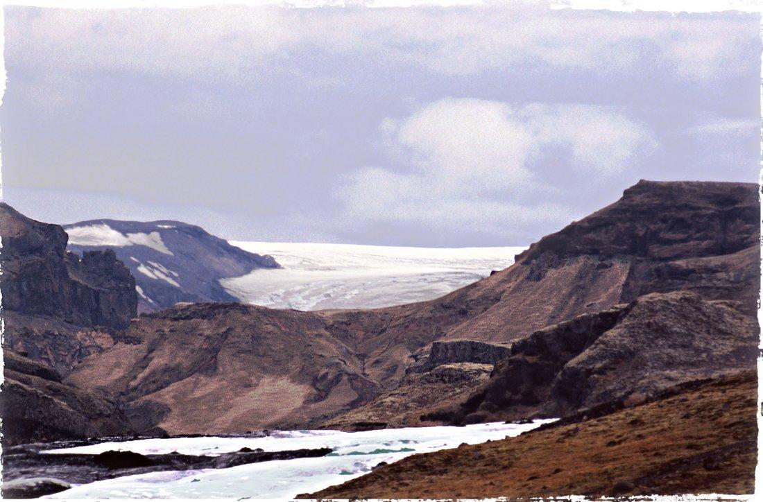 """""""Glacier's End"""", Harvey Hellering"""