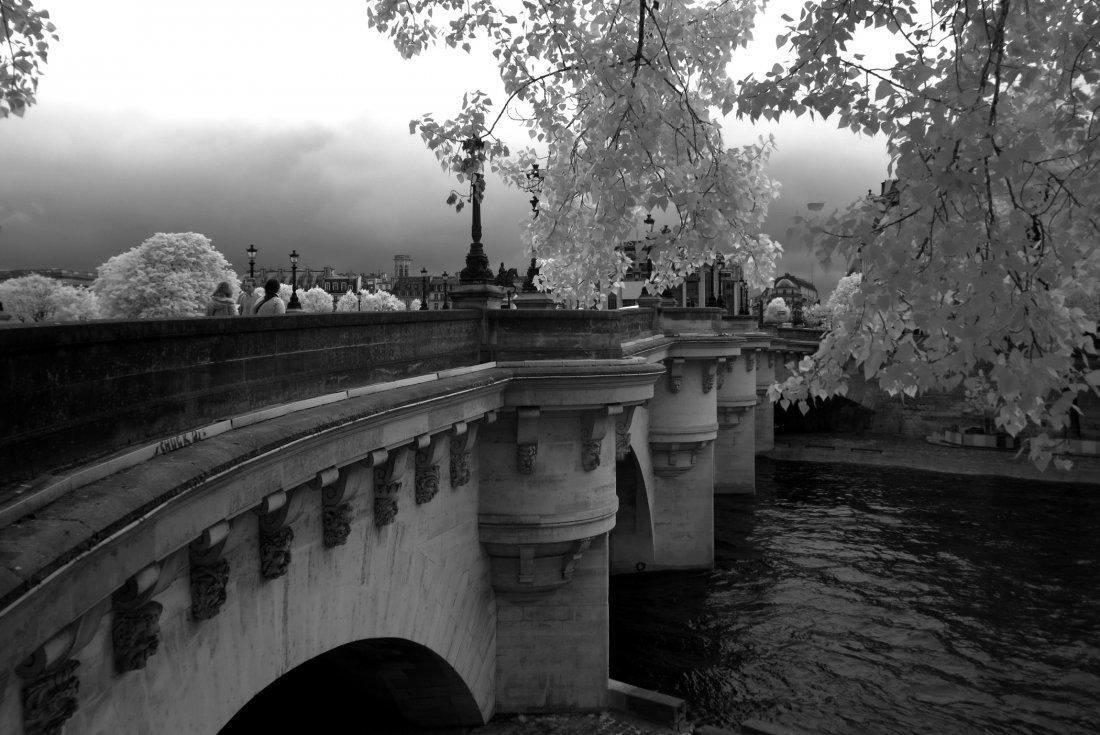 """""""Paris Bridge"""", Jacquelyn Etling"""