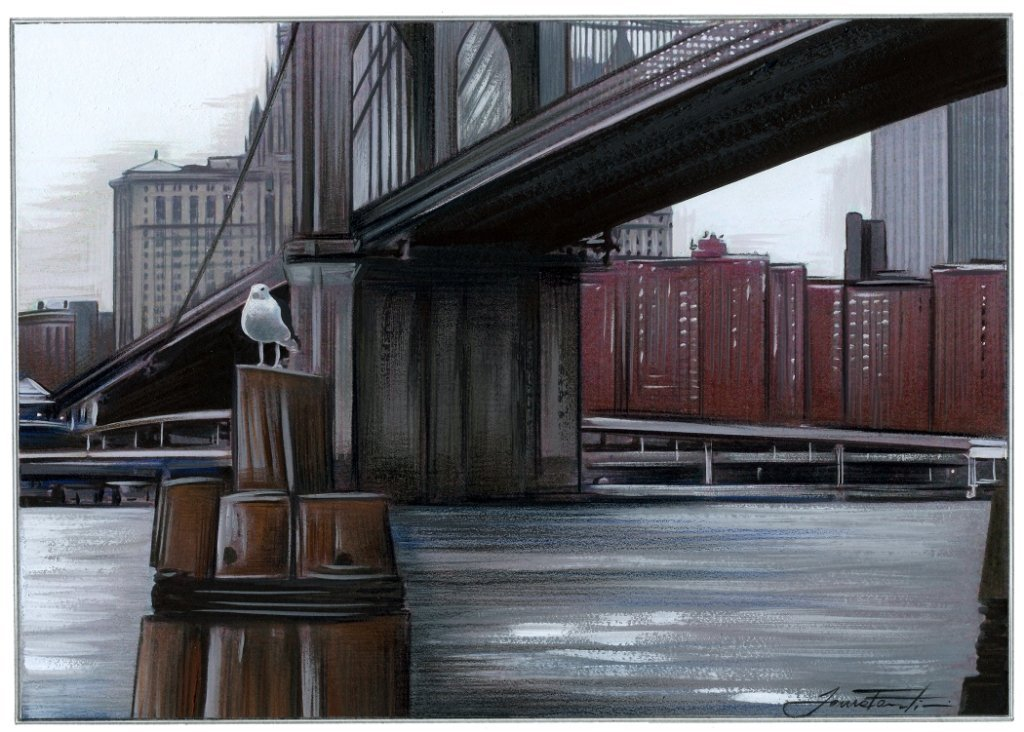 """Under the Brooklyn Bridge"", Laura Fantini"