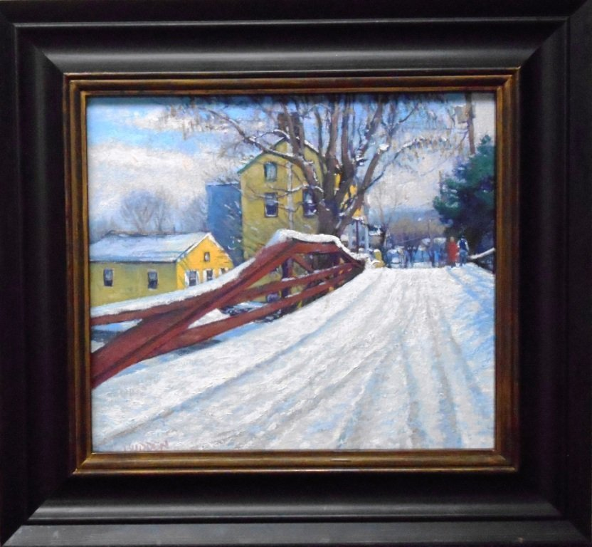 """Winter on Mechanics St"", Michael Budden"