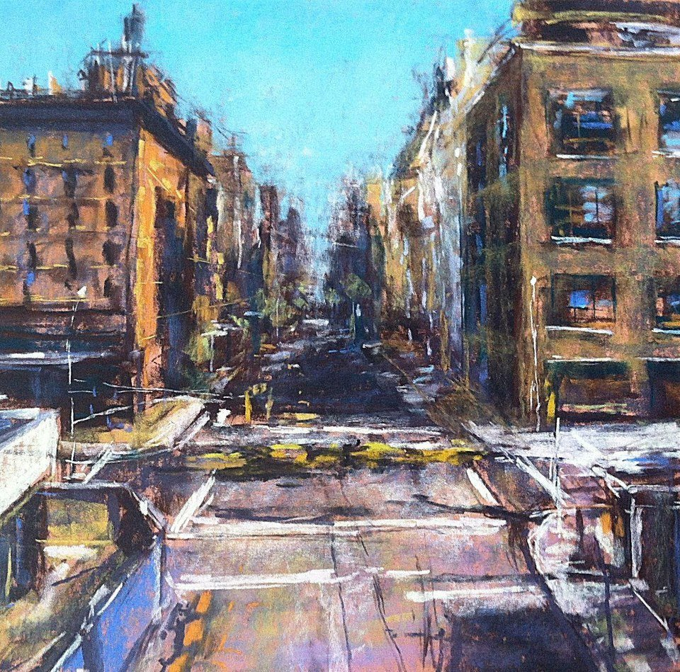 """View from The Highline (23rd Street)"", Anne Kullaf"