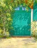 """Monet's Garden, Giverny"", Madeline Meryash"