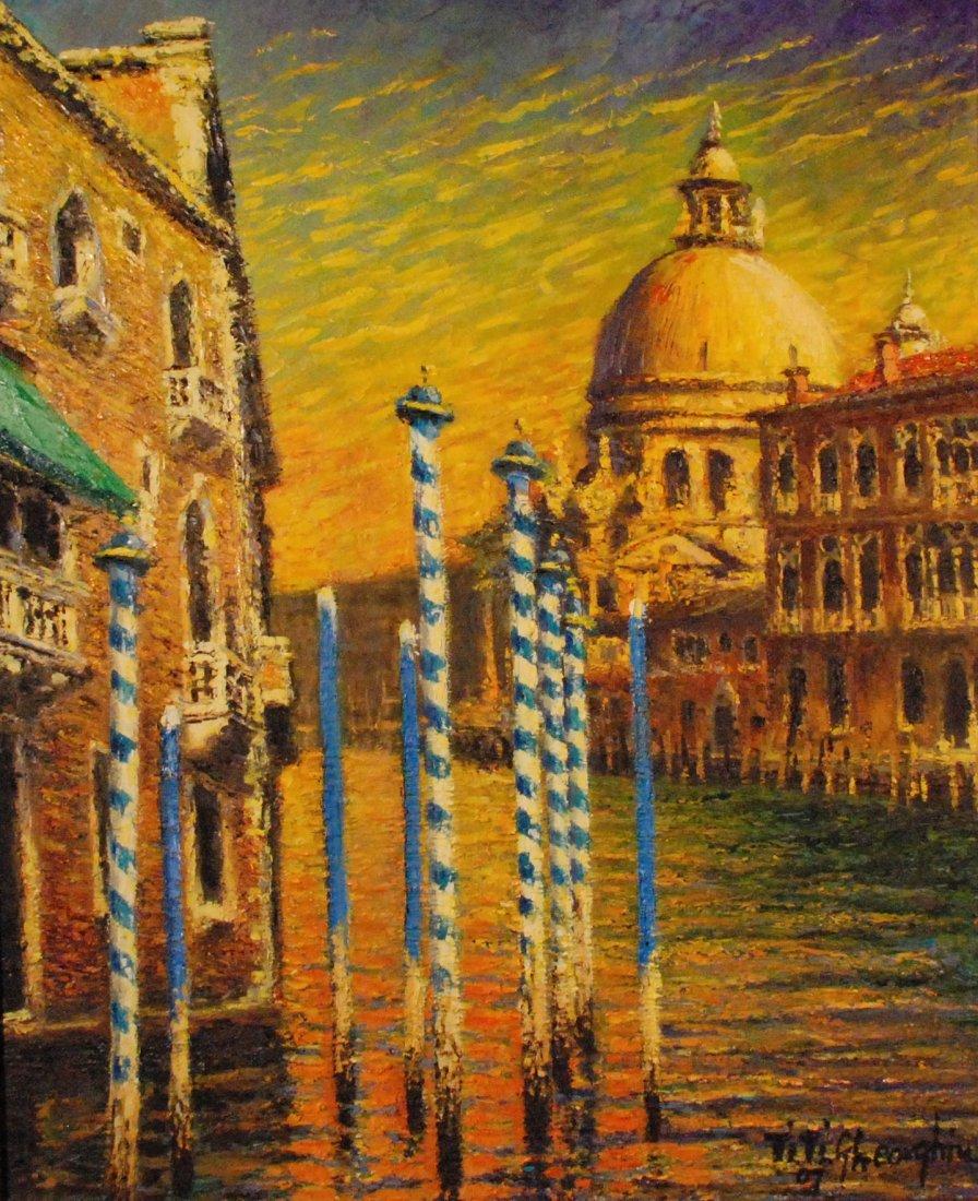 """""""Venice/Canal Grande in Sunset"""", Titi Gheorghiu"""