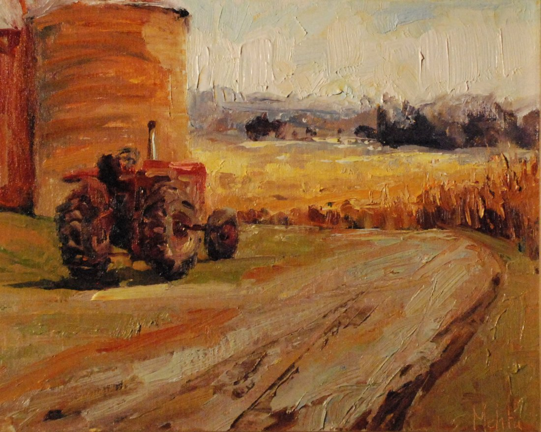 """Summer Wheat"", Lynn Mehta"