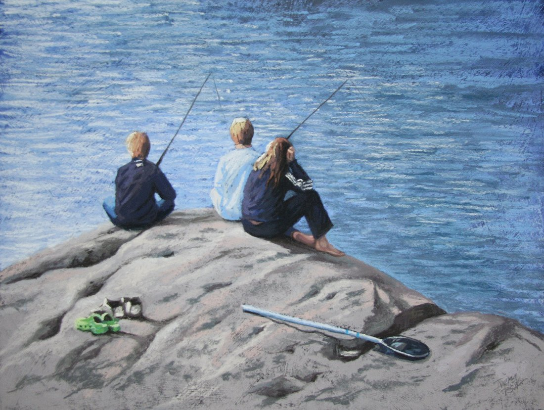 """Nothing's Biting"", Christine Ivers"