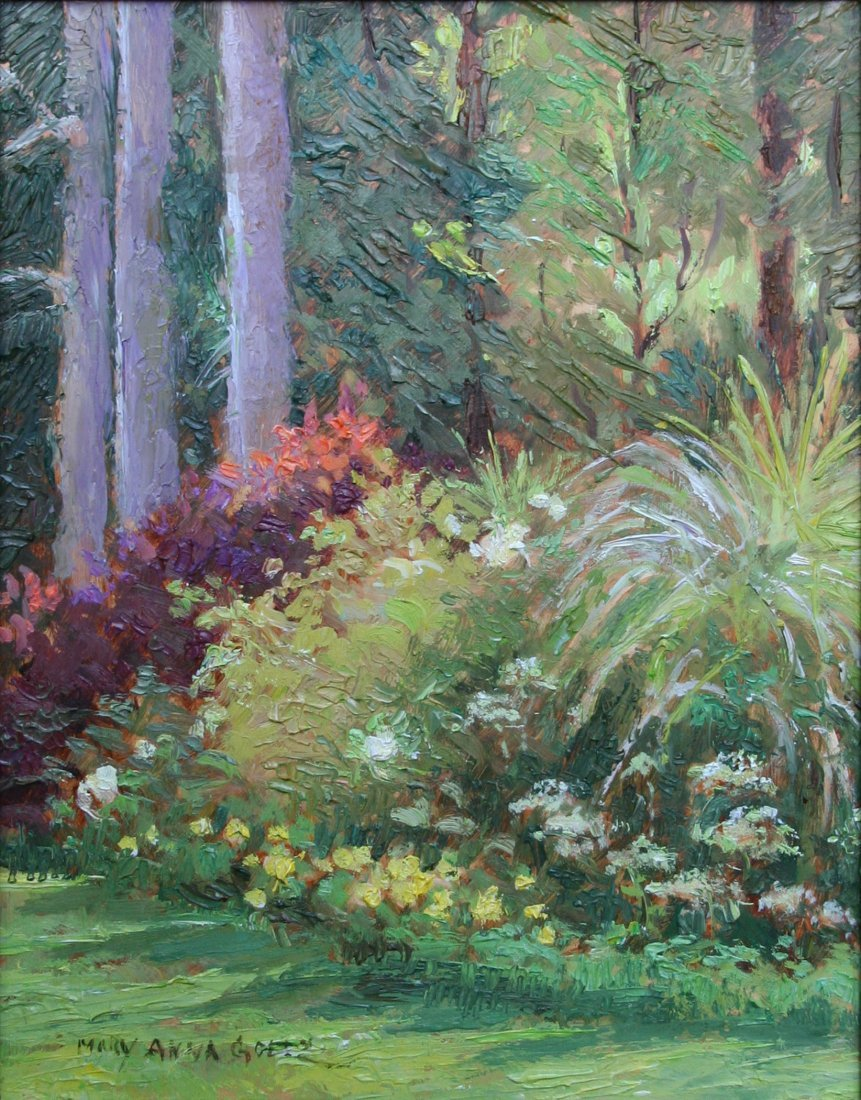 """Summer Morning & Willow"", Mary Anna Goetz"