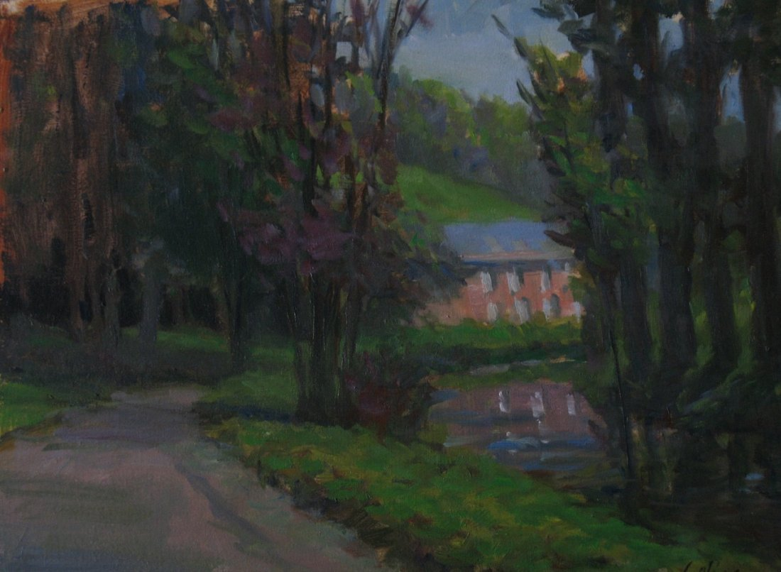 """""""Along the Canal"""", Michelle Golias"""