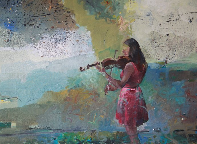 """""""Harmony"""", Sunil Howlader"""