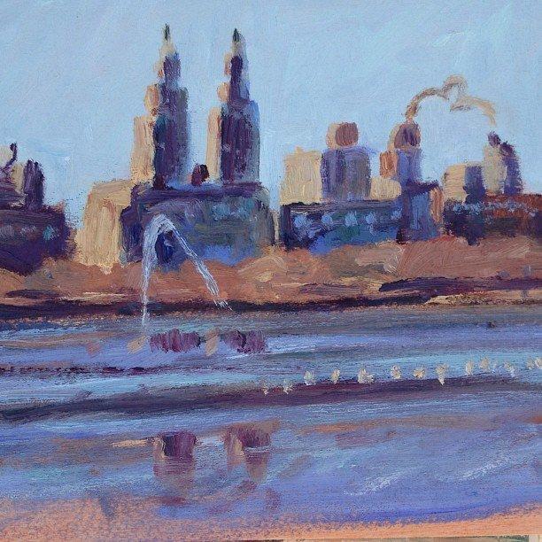 """Central Park Reservoir"", Stephanie Reiter"