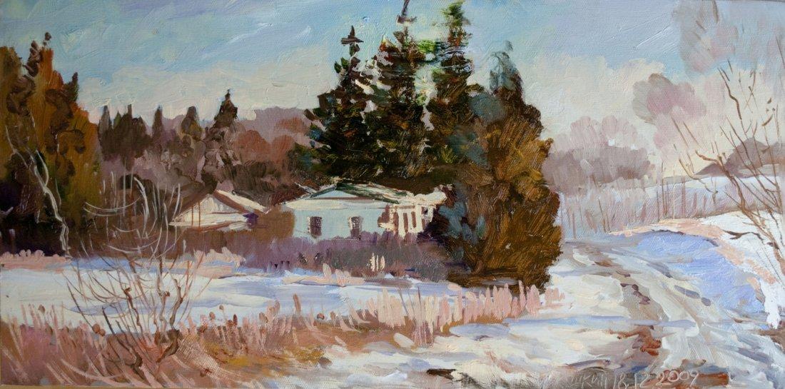"""""""Jordanville Winter"""", Nikolay Mikushkin"""