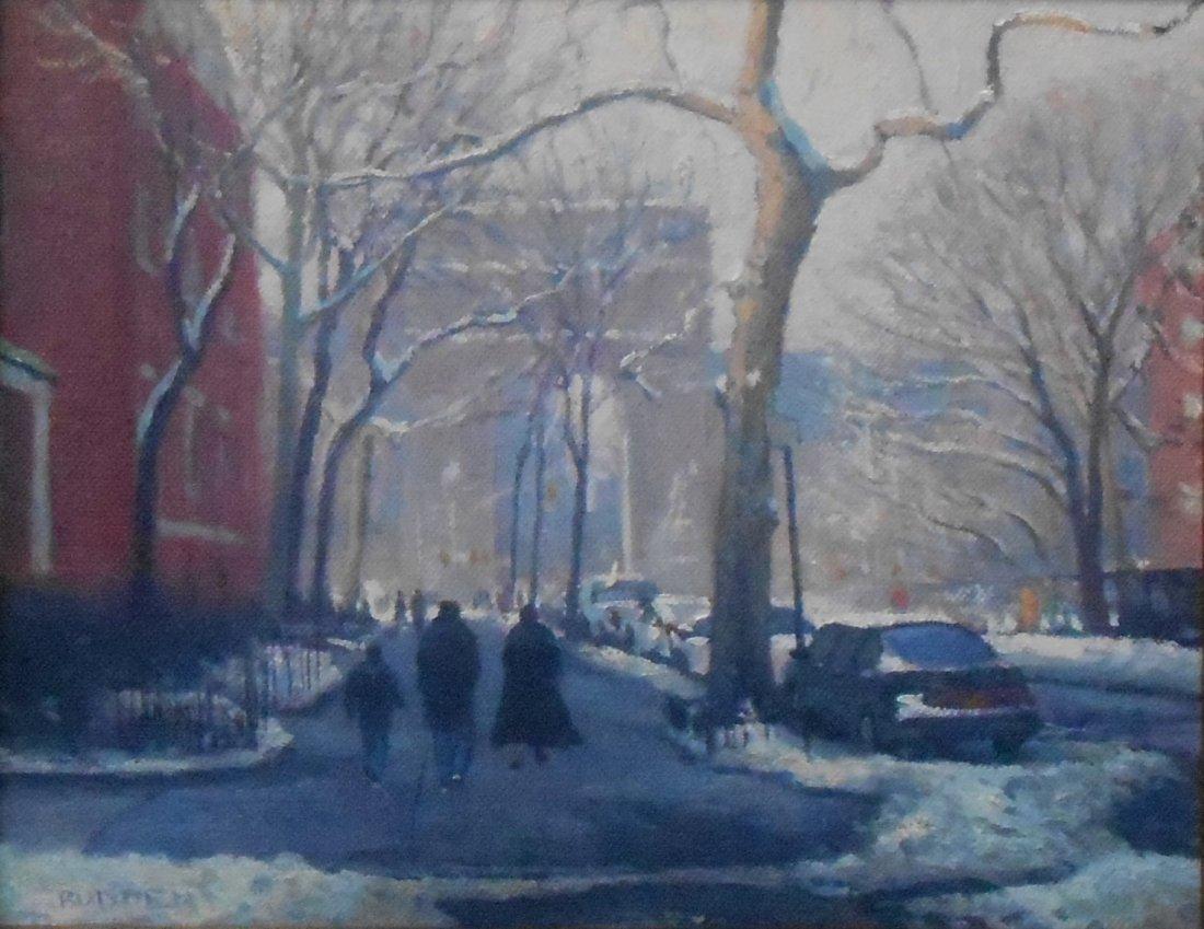 """Winter Washington Sq"", Michael Budden"
