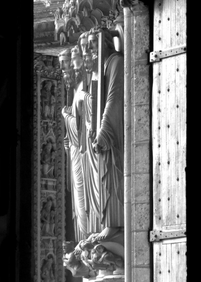 """Chartres Doorway"", Jacquelyn Etling"