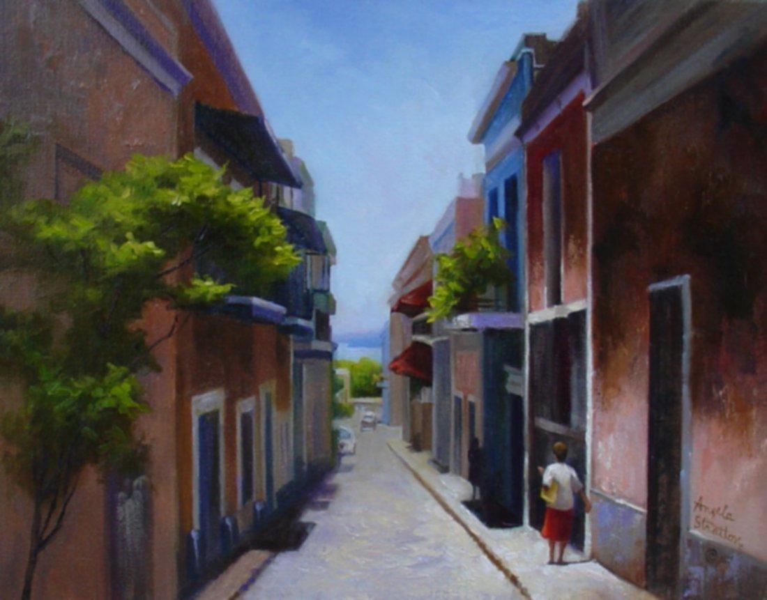 """Old San Juan"", Angela Stratton"