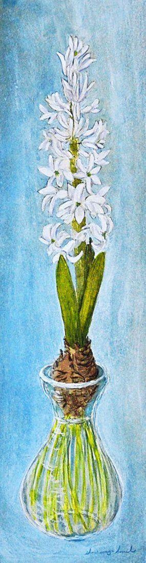 """White Hyacinth"", Sharon Way-Howard"