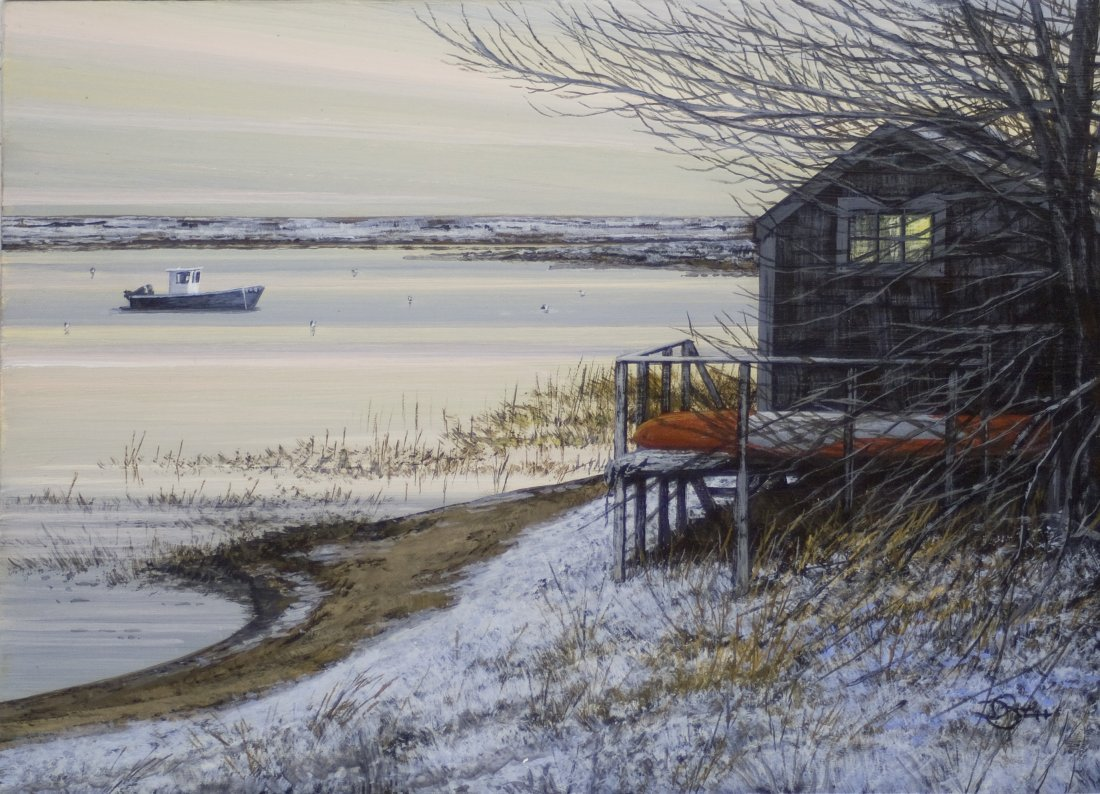 """""""The Old Boat Shed"""", Del-Bourree Bach"""