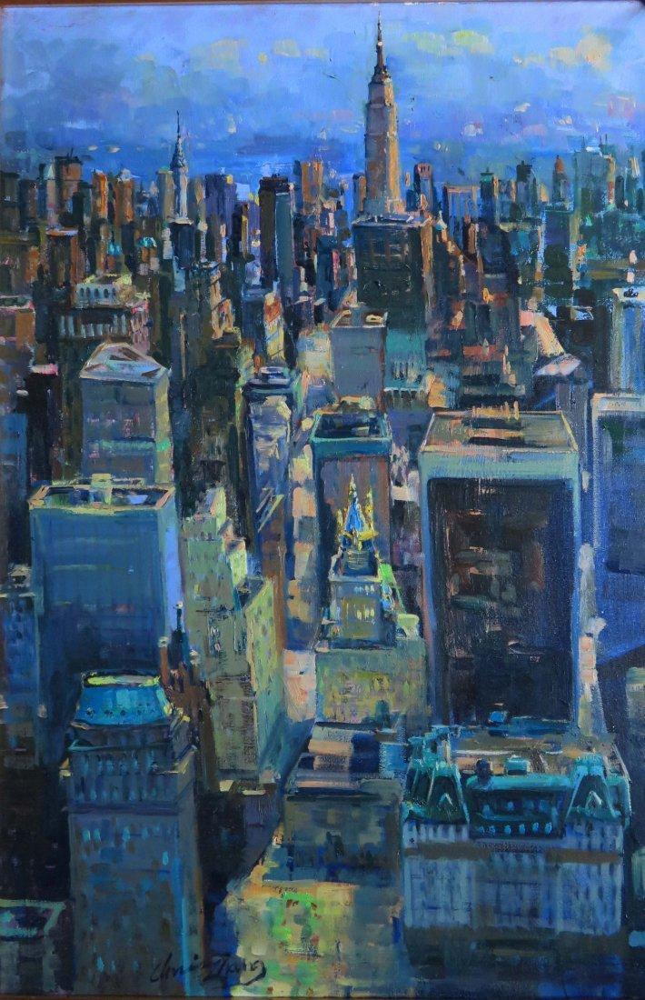 """Manhattan Sky Lines"", Christopher Zhang"