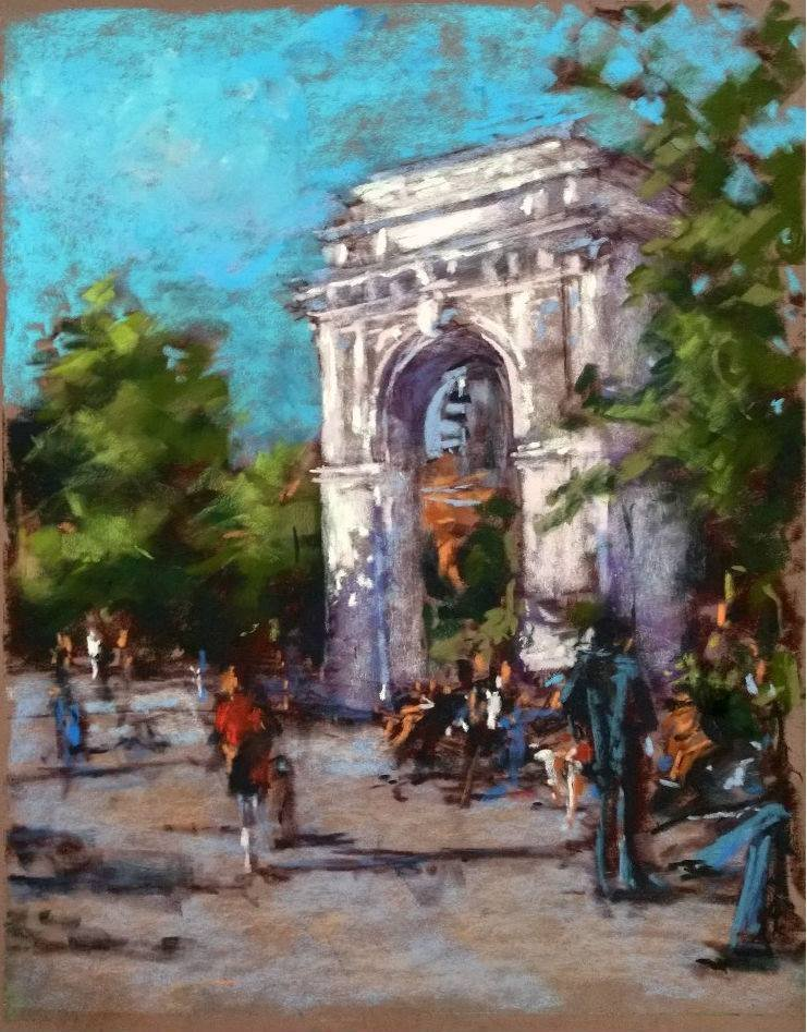 """Washington Square"", Anne Kullaf"
