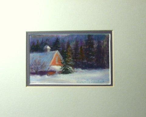 """""""Snowed In, Vermont"""", Georgette Sinclair"""